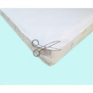 CHRÁNIČ matrace s GUMOU 120x200cm - FROTÉ bílá