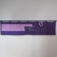 Kapsář za postel -   MOTÝL LILA na fialovém