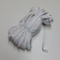 PRUŽENKA - GUMA prádlová 1cm BÍLÁ