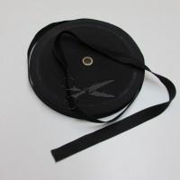 PRUŽENKA - GUMA prádlová 2cm ČERNÁ