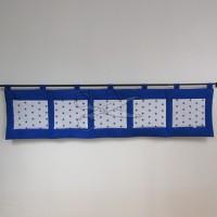 Kapsář za postel - HVĚZDIČKA modrá