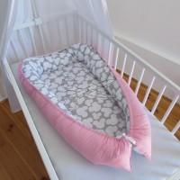 HNÍZDEČKO pro miminko - MICKEY růžový