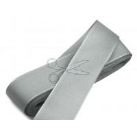 Stuha taftová ŠEDÁ šíře 25 mm