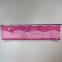 Kapsář za postel - MAŠLIČKA růžová